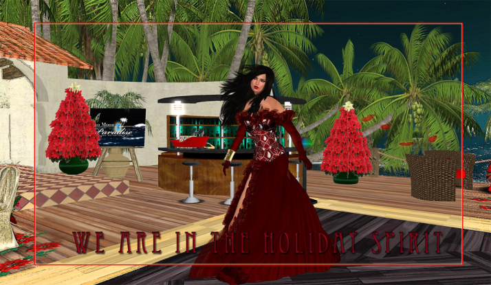 Dress for the Holidays and join us at Two Moon Paradise