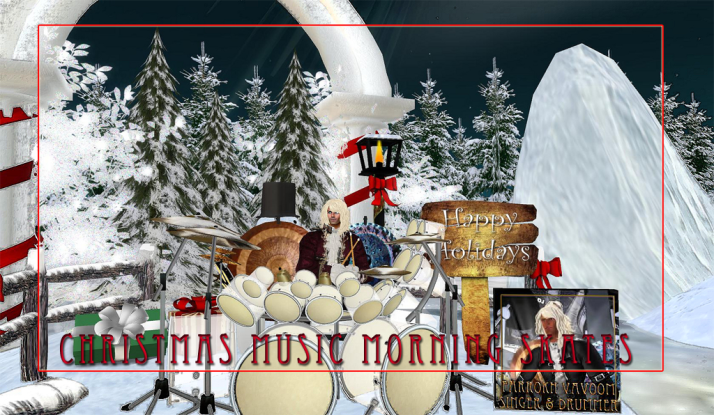 Join us at 11 AM SLT for Christmas Skate with Farrokh Vavoom on Monday/Wednesday/Thursday
