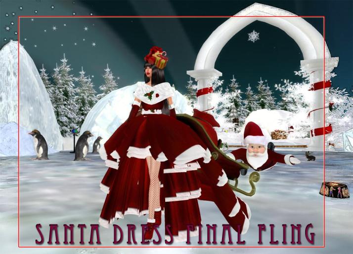 Shiran takes Santa for one final fling.