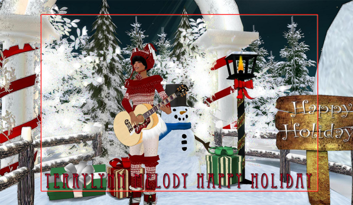 TerryLynn Melody singing Holiday songs and more on Friday along with CeCi Dover, AMForte Clarity and AcousticEnergy Nitely.