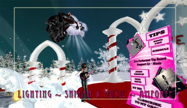 Shiran Sabra and AMForte Clarity at The Winter Wonderland Two Moon Paradise