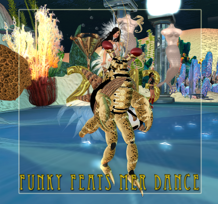 Mer Funky Feats dance event in the Mer Garden at Two Moon Paradise