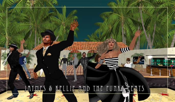 Tuesday Dancing with the Funky Feats @ Coconut Rock with Kellie leading to the tunes of Farrokh Vavoom and then Jaymes Capalini