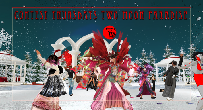 Thursday Contests ~ Oriental Theme Week ~Two Moon Paradise