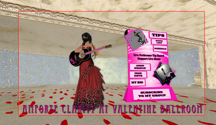 AMForte Clarity plays the Valentine's Day Ball at Two Moon Paradise