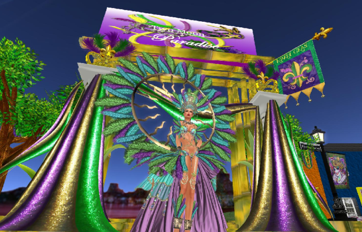 Destination Guide Mardi Gras At Two Moon Paradise