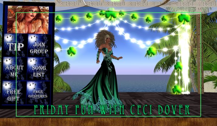 CeCi Dover and AMForte Clarity on Friday at Two Moon Paradise