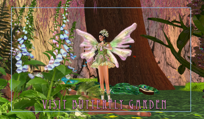 Join us at Two Moon Paradise and discover the newest venue ~ Butterfly Garden