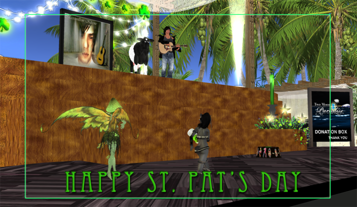 Max Kleene is a crowd pleaser for all avatars large and small.. see him at Two Moon Paradise twice a week.