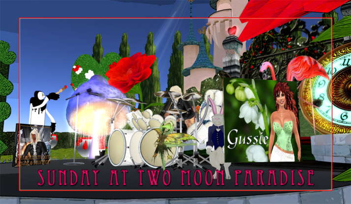 Music and Madness happens on Sundays from 12-2 PM SLT please join the fun and you never know who Max will bring along to play with him at 4 PM SLT