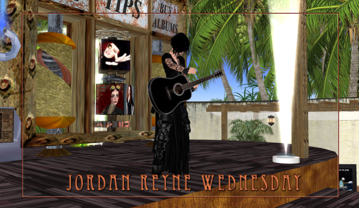 Jordan Reyne has returned to play Two Moon Paradise on Wednesday .. come catch the show