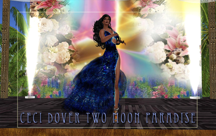 CeCi Dover and Lisa Brune start the weeks events at Two Moon Paradise