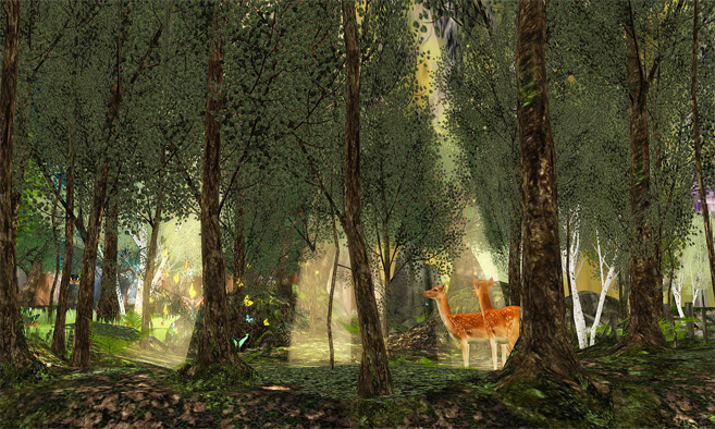 Please come see the newest interactive part of Two Moon Paradise ~ The Fantasy Forest