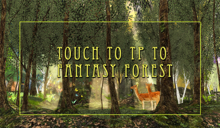 Fantasy Forest TP Sign