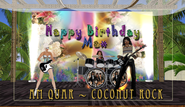 AM Quar and the ladies sing Max Kleene Happy Birthday May 11th 2013