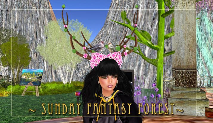 Come see the new Music Venue at Fantasy Forest ~ Spring has arrived