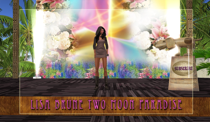 Lisa Brune plays Mondays and Wednesdays at Two Moon Paradise ♥