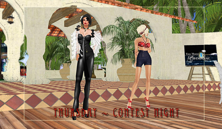 Thursday Contest Night at Two Moon Paradise .. are we 1940s enough?