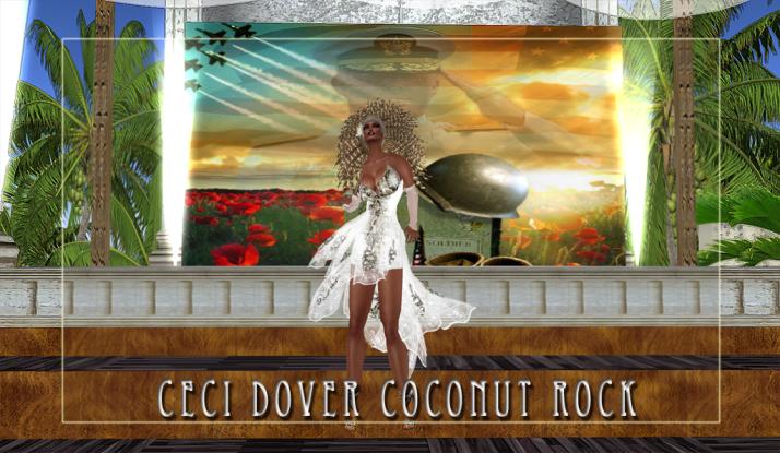 CeCi Dover at Coconut Rock Mondays