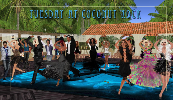 Dancing with Farr, Jaymes and Kellie & the Funky Feats at Coconut Rock