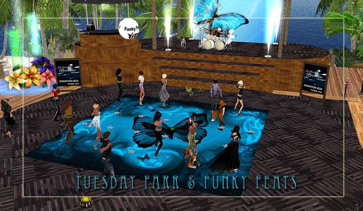Come join the dance party on Tuesdays at Two Moon Paradise!