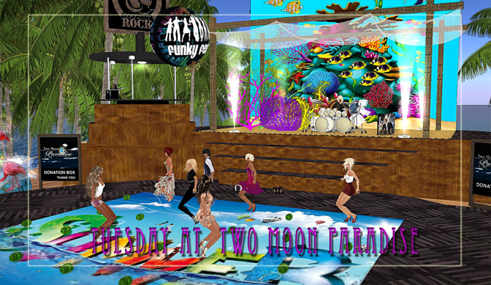 Dance Tuesday away with Farr, Jaynmes and the Funky Feats Kellie