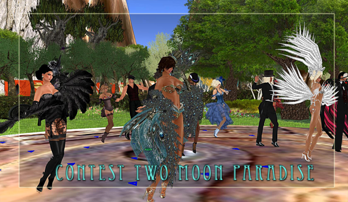 Thursday is AMForte and Contest Night Burlesque winners Cricket, LouLou, Meline & Lisa shake their feathers;-)