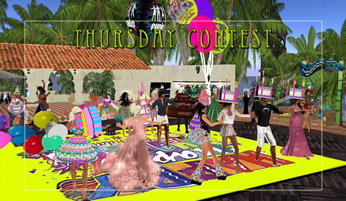 Thursday Contest Day Two Moon Paradise Winners LouLou & Julian took the cake!
