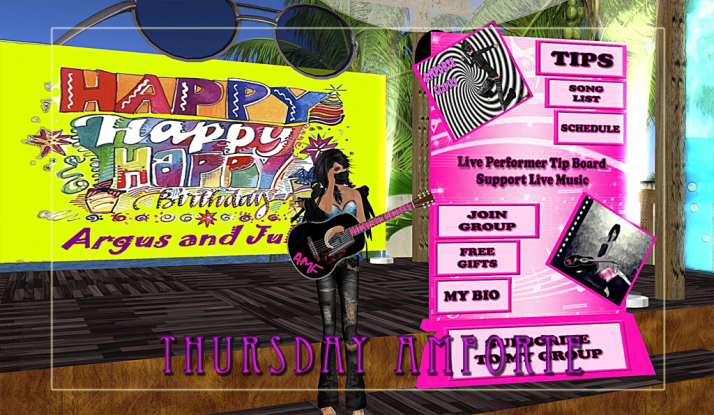AMForte Clarity and Jaymes and the Funky Feats make Thursday Contest Day Fun!