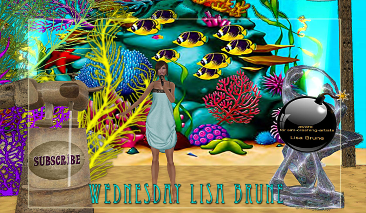 Lisa Brune plays Monday & Wednesday at Two Moon Paradise
