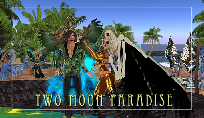 Two Moon Paradise Theme Contests on Thursday bring out the colors in Chigan and Secret