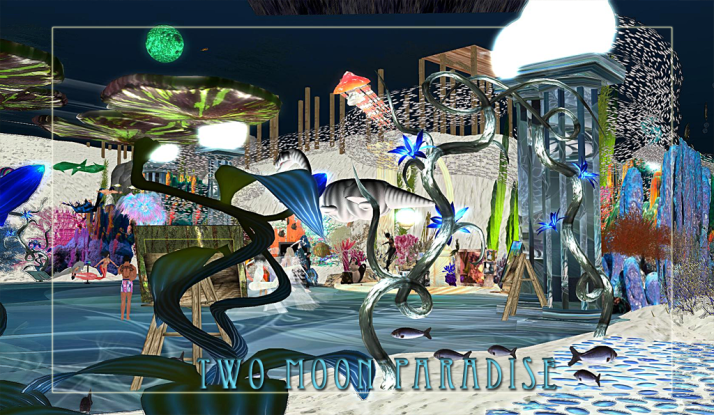 Explore the Beautiful Mer Garden at Two Moon Paradise