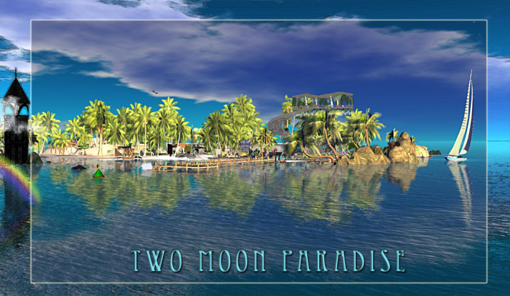Come relax with us Fridays at Two Moon Paradise