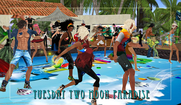 Tuesday Dance Parties at Two Moon Paradise