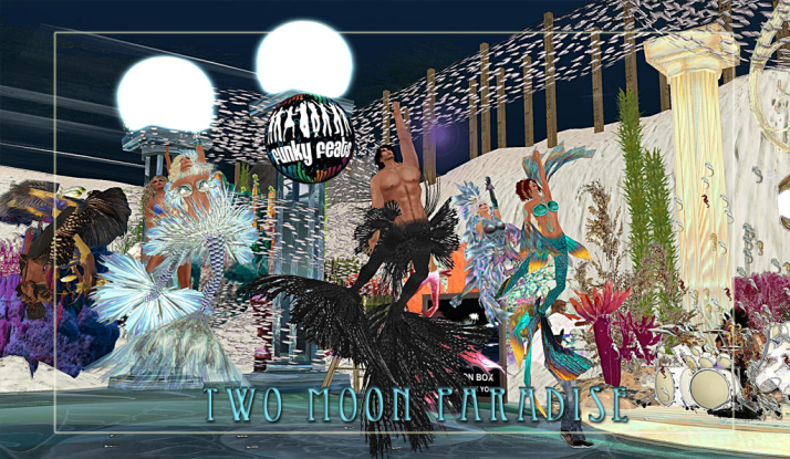 Join The Funky Feats and Farr and Rick on Tuesdays at Two Moon Paradise