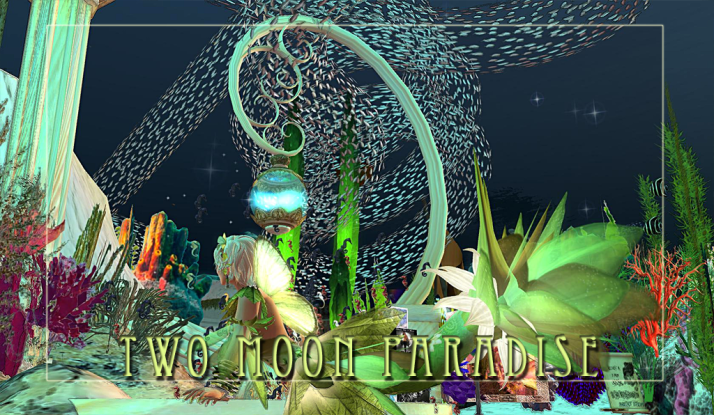 Come Dance in the Mer Garden at Two Moon Paradise This week Tuesday and Wednesday have Mer Events