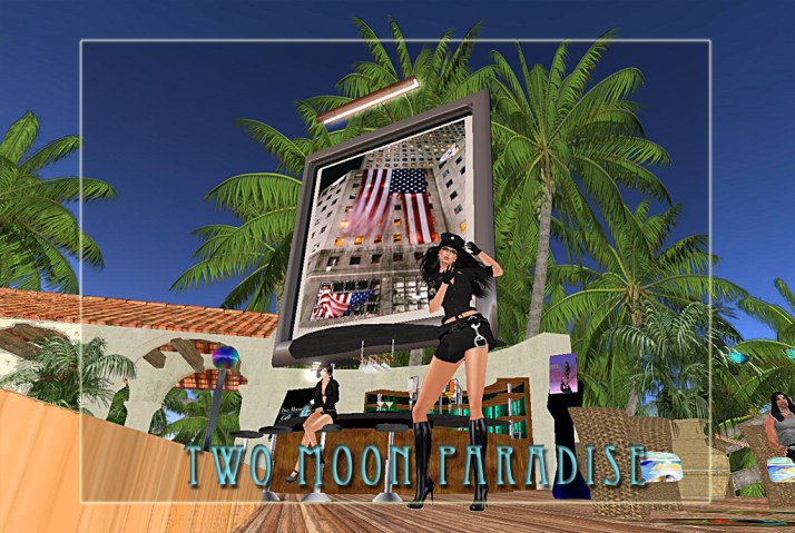 Thursdays are themed contest days at Two Moon Paradise
