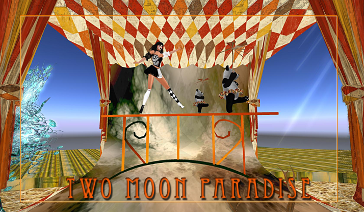 Circus Venue Week at Two Moon Paradise come see it before we make room for Halloween!