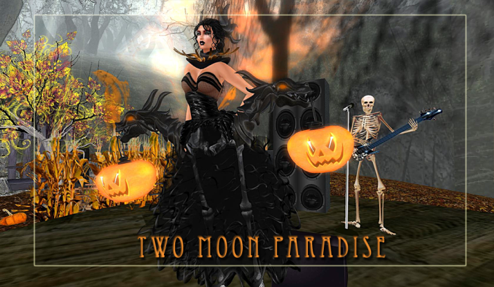 Come checkout the newest Build by Secret Rage and Shiran Sabra at Two Moon Paradise Halloween Haunt