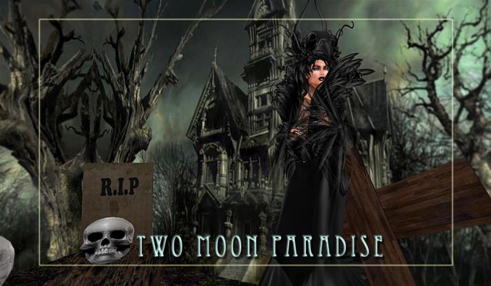 Come Visit The Two Moon Paradise Halloween Haunt op-en 24/7 now until November 2nd