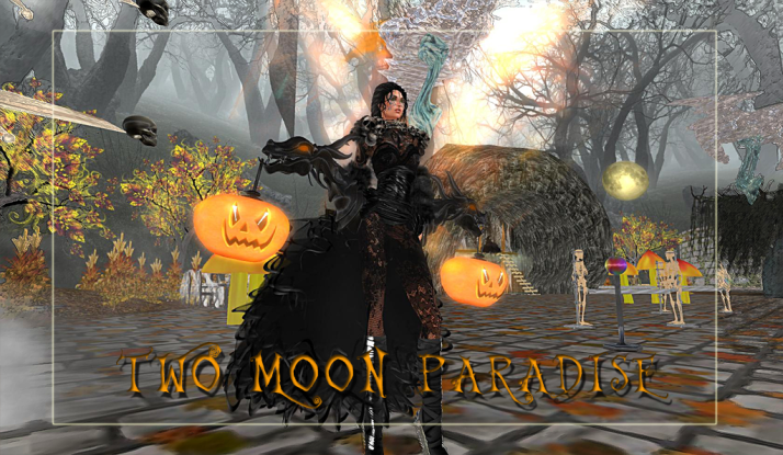 Visit The Halloween Haunt at Two Moon Paradise before it goes away