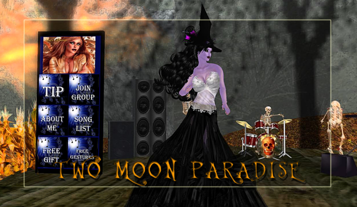 CeCi Dover and Lisa Brune play Mondays at Two Moon Paradise starting at 2 PM SLT