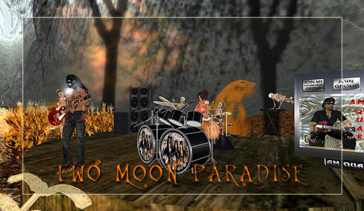 AM Quar and Max Kleene play Saturdays at Two Moon Paradise