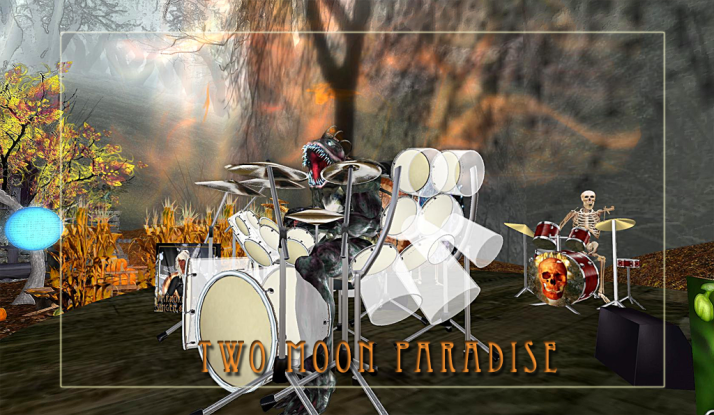Join Farr and friends on Sundays Noon to 2 at Two Moon Paradise.. he really is a monster drummer and sings too