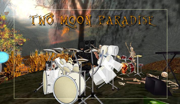 Farrokh BATMAN Vavoom plays Sundays at Two Moon Paradise Noon - 2 PM SLT