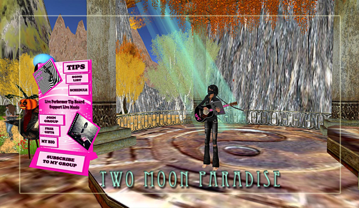 AMForte Clarity Thursdays at 4 PM SLT Two Moon Paradise making our lives better with music and wisdom:)