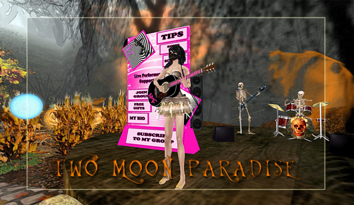AMForte Clarity as Zombie Ninja ~ Thursdays 4 PM SLT at Two Moon Paradise