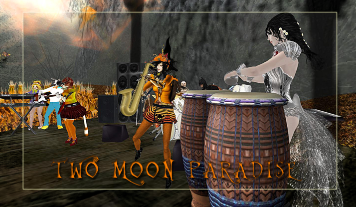 Farrokh Vavoom and The Robots play with The Funky Feats on Tuesdays at 5 PM SLT