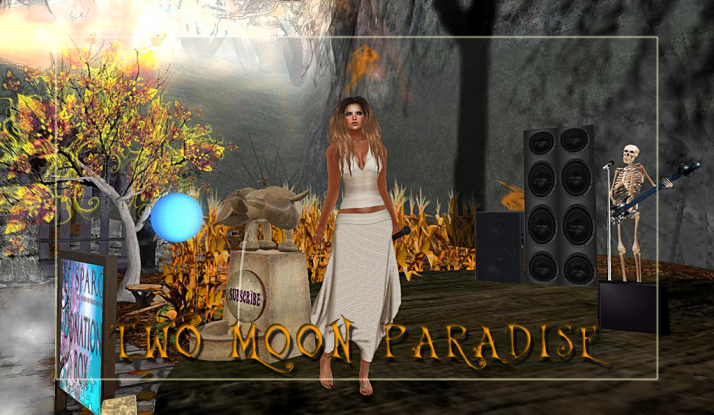 Lisa Brune plays Wednesdays at 3 PM SLT Two Moon Paradise
