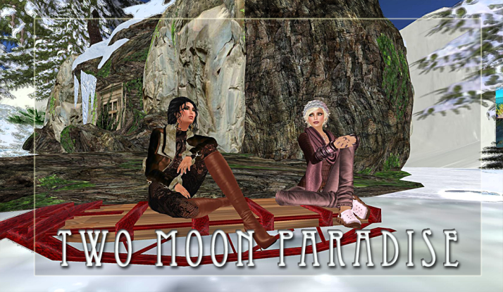 Fridays at Two Moon Paradise ~ So We are going to ice fish on Fridays now? :)